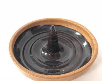Burgundy Ring Dish
