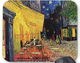 Vincent Van Gogh Cafe Terrace Mouse Pad Mousepad