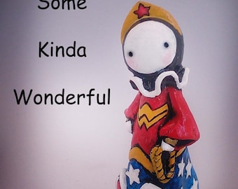 Wonder Woman Poppet - Lisa Snellings