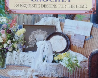 Crochet Lace Victorian Lace Patterns Book Crochet for Home Crochet Gift Patterns Vintage Lace Vanessa-Ann Book Designer Pattern Crochet Edge
