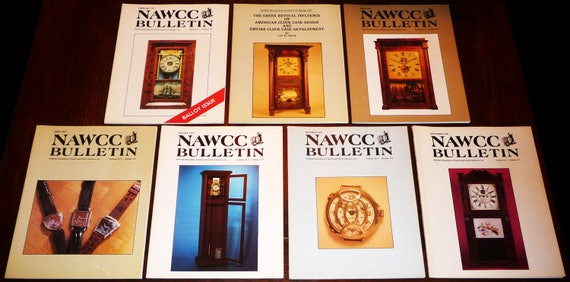 Bulletin of the National Association of Watch and Clock Collectors (NAWCC) 1991 Full Year + Supplement 18 Horology