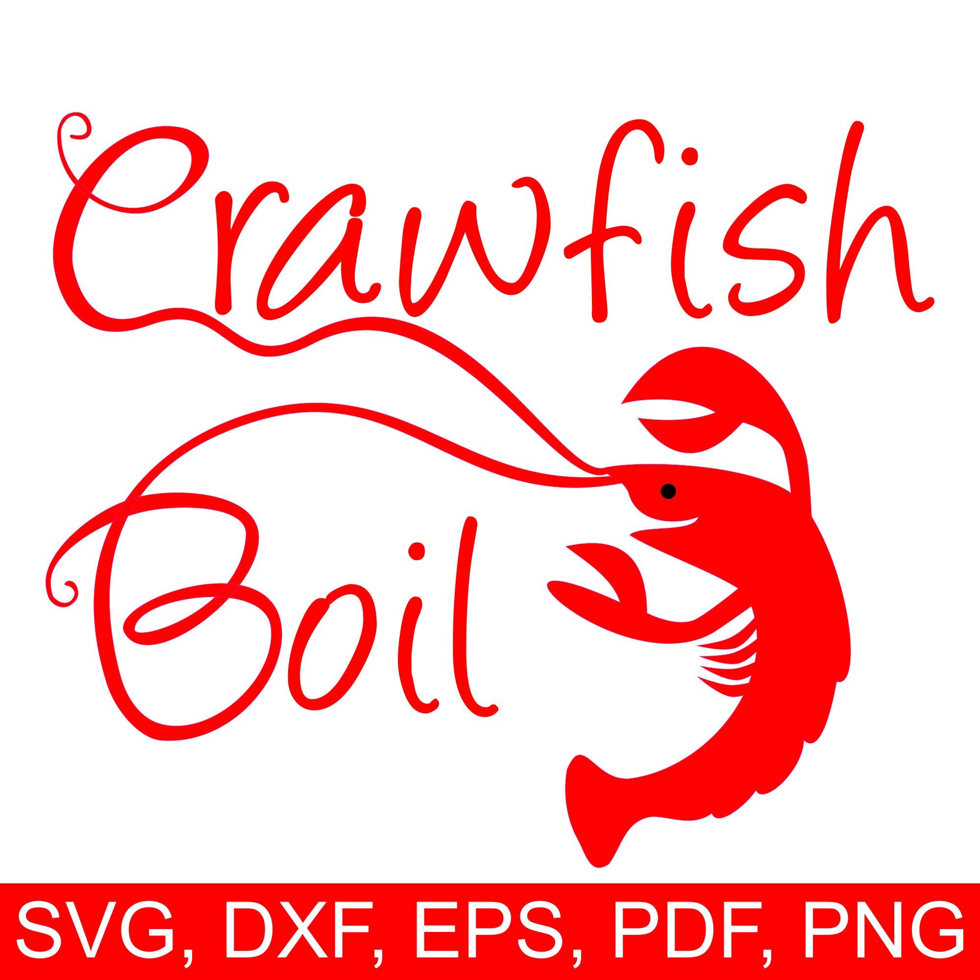 crawfish boil svg file and printable crawfish boil invitation clipart rh perfectcutsvgfiles com Crawfish Boil Cartoon crawfish boil clipart
