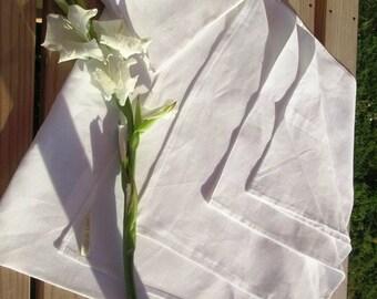 Futon cover sheet set, linen sheet and pillowcase, Irish linen bed set