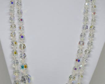 Charming Plastic Sparkling Beaded Necklace