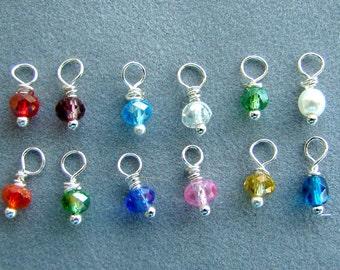 Swarovski Crystal Add-On Birthstone Dangle