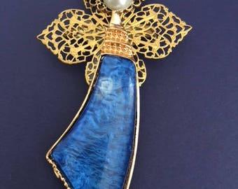 Blue Angel Pin