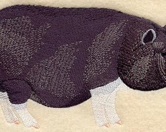 Pig, Pot Bellied Pigs, Hog Embroidered Patch