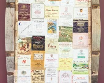 Vintage Wine Label Art