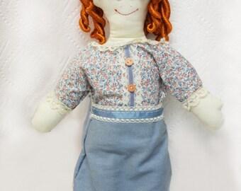 Rag Doll - Blond-haired Girl