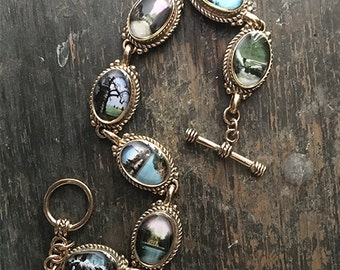Echoes Bronze Bracelet