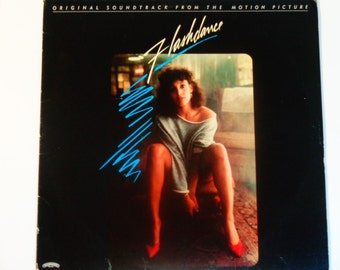 """Flashdance - Original Soundtrack from the Motion Picture - """"What a Feeling"""" - """"Maniac"""" - Polygram Records 1983 - Vintage Vinyl Record Album"""