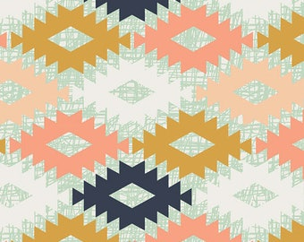 "Arizona Fabric - Art Gallery ""Agave Field"" by April Rhodes. Southwestern Geometric - 100% premium cotton. ARZ-553"