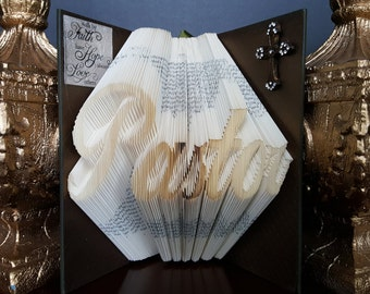 Pastor Book, Clergy, Gift for Pastor, Wedding Gift for Pastor, Religious Gift, Minister Gift, Wedding Gift Minister, Preacher Gift, Faith