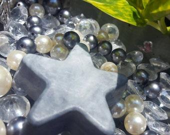 Twinkling charcoal Star
