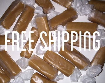 Free Shipping, Homemade Caramels, Creamy Caramels