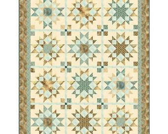 """Arabesque Quilt Kit, 61 x 68"""", Quilting Treasures, Quilt Fabric, Cotton Fabric, Medallion Fabric"""