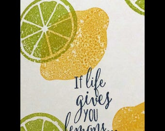 Lemons and Limes Card