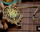 Sacred Geometry Necklace,...