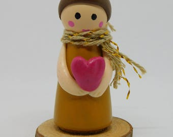 Love peg doll