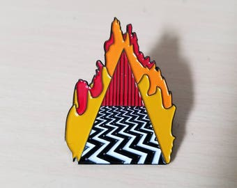 Twin Peaks Pin Dougie Jones Good Luck Charm featuring The Red Room & Mr Jackpots Hello from ZanzibarLand