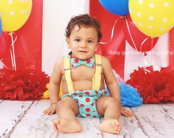 Baby boy first birthday outfit boy cake smash outfit baby