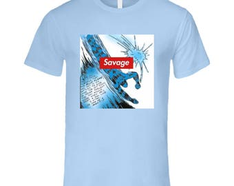 Blue Flame - Savage T Shirt