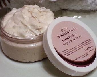 BODY RESURRECTION Tropical Body Butter Cream