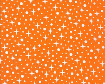 Rhoda Ruth by Elizabeth Hartman for Robert Kaufman Fabrics - 1/2 yard cut - # AZH 15453-8 Orange