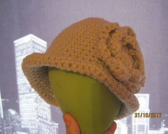 knitted hat for a little girl