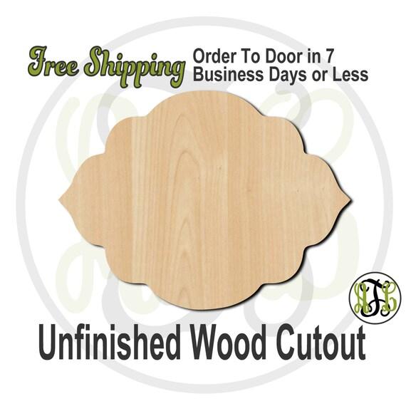 Plaque Danielle - 40004- Cutout, unfinished, wood cutout, wood craft, laser cut shape, wood cut out, DIY, Free Shipping