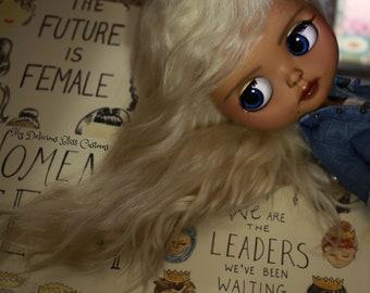 SALE Avain, OOAK Custom Blythe Art Doll