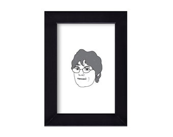 4 x 6 Framed Barbara Evans / Teen Mom Portrait