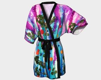 Under the Sea Kimono Robe