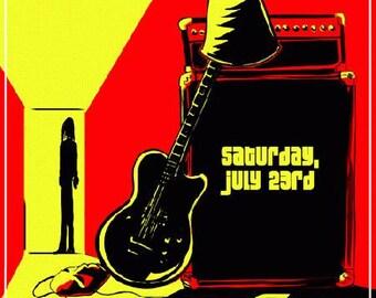 Buckethead Boulder 2011 Colorado Fox Concert Poster