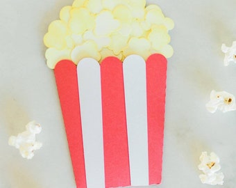 Movie night gift card holder, popcorn bucket gift card holder, movie lover, popcorn lover, teacher appreciation, teenager gift, quick gift