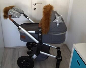 HANDMUFFS for MUTSY or JOOLZ stroller