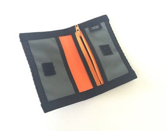 Vegan Credit Card Wallet with Coin Pocket