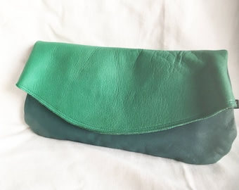 Amanda Jayne Green Clutch