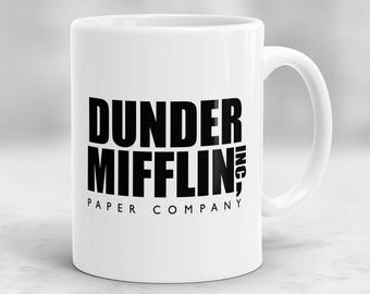office mug. The Office Mug, Dunder Mifflin Cup P151 Mug
