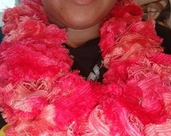 Cowl ruffles scarf