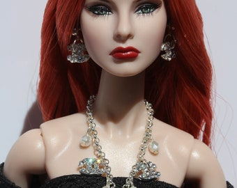 """Doll jewelry set for Fashion Royalty, Poppy Parker and similar 12"""" dolls"""