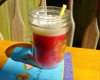 Cinnamon Orange Milkshake Mason Jar Candle