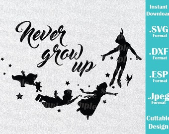 Peter Pan Svg Etsy