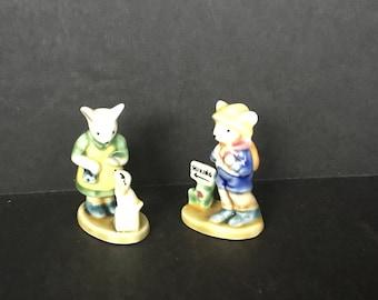 Miniature Figurines  - Unknown Maker