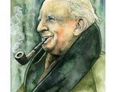 J.R.R Tolkien Painting - ...