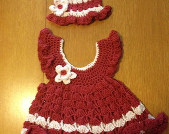 Toddler Sundress and Hat