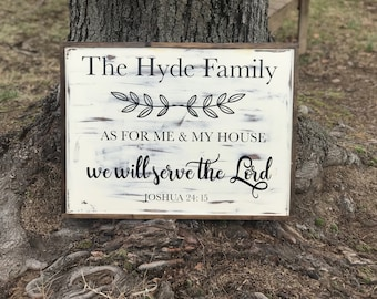 Personalized Me and My House Sign