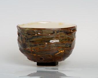 KRISTA - Porcelain bowl, unique, handmade, OOAK