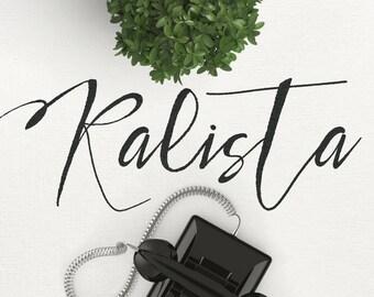 Kalista Modern Calligraphy Font Download