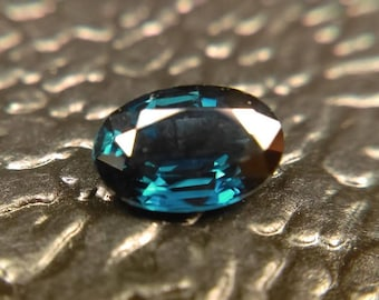 6.05mm Natural Sapphire .60 carat